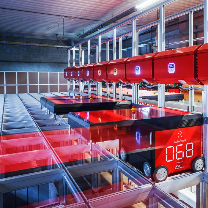 AutoStore AKL von AM Logistic Solutions