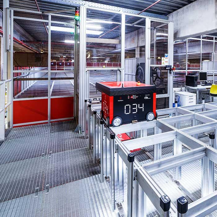 Arbeiten Sie in der Automatisierung von Intralogistik mit AM Logistic Solutions