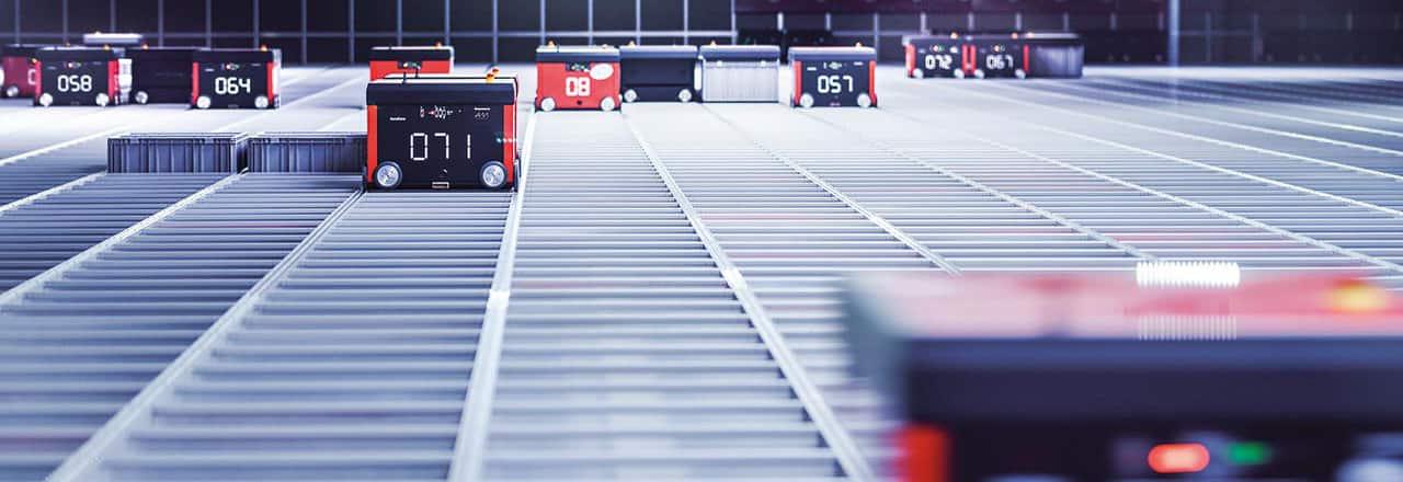 AutoStore™ - Das automatische Kleinteilelager